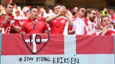 """القنوات الناقلة لمباراة ويلز والدنمارك في دور الـ 16 لبطولة """"يورو 2020"""""""