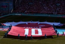 ليست مُجرد لعبة.. مُباراة الدنمارك وبلجيا تشهد تكريماً خاصاً لـ إريكسن