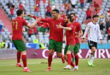 هدف كريستيانو رونالدو في مرمى المانيا 1-0 يورو 2020