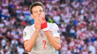 هدف اسبانيا الثاني في مرمى كرواتيا 2-1 يورو 2020