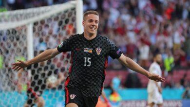 هدف كرواتيا الثالث في مرمى اسبانيا 3-3 يورو 2020