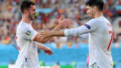 هدف اسبانيا الثاني في مرمى سلوفاكيا 2-0 يورو 2020