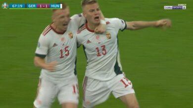 اهداف مباراة ألمانيا والمجر 2-2 يورو 2020