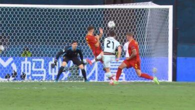اهداف مباراة بلجيكا والبرتغال 1-0 يورو 2020