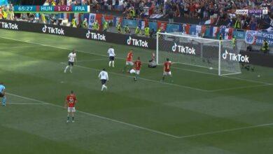 ملخص مباراة فرنسا والمجر في يورو 2020