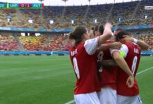 اهداف مباراة النمسا واوكرانيا 1-0 يورو 2020