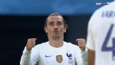 اهداف مباراة فرنسا والمجر 1-1 يورو 2020