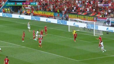 اهداف البرتغال والمجر 3-0 يورو 2020