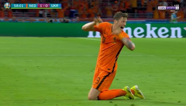 اهداف مباراة هولندا واوكرانيا 3-2 يورو 2020