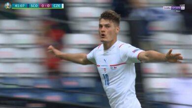 اهداف مباراة التشيك واسكتلندا 2-0 يورو 2020