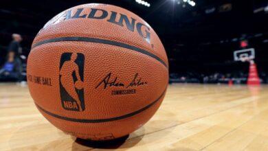 توزيع مراكز اللاعبين في ملعب كرة السلة