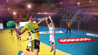 توزيع مراكز اللاعبين في ملعب كرة اليد