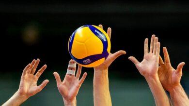 كم شوط في كرة الطائرة