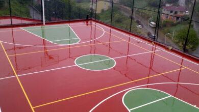ملعب كرة سلة وقياساته