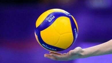 وزن كرة الطائرة القانوني