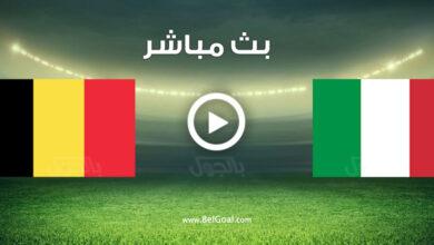 مشاهدة مباراة إيطاليا وبلجيكا