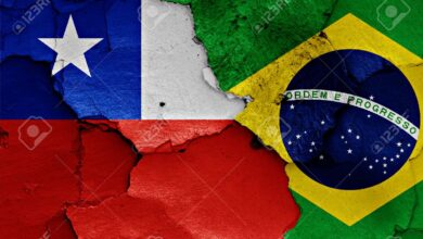 Brazil and Chile