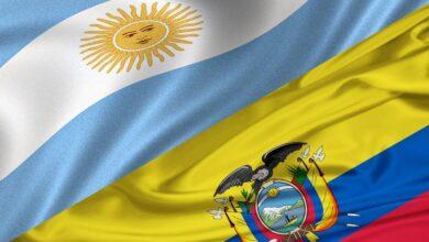 Argentina and Ecuador