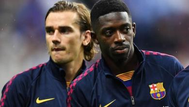 رسمياً - برشلونة يقدم إعتذاراً لشركة راكوتن عقب عنصرية جريزمان وديمبلي