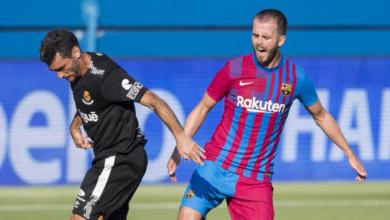 بيانيتش في ودية برشلونة