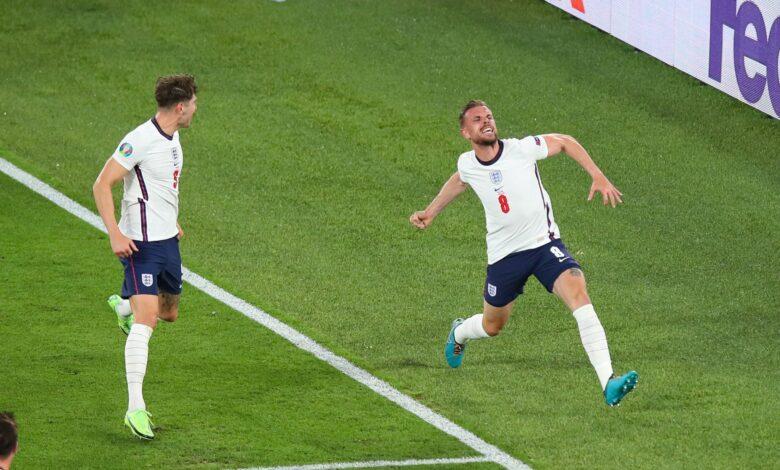هدف انجلترا الرابع في مرمى اوكرانيا 4-0 يورو 2020