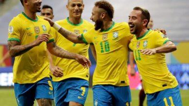 منتخب البرازيل - بيرو
