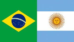 Brazil and Argentina