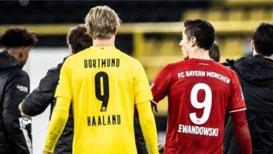 موعد تعاقد ريال مدريد مع هالاند وليفاندوفسكي
