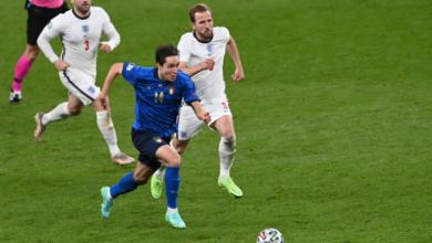 نتيجة مباراة إنجلترا وإيطاليا في نهائي اليورو اليوم
