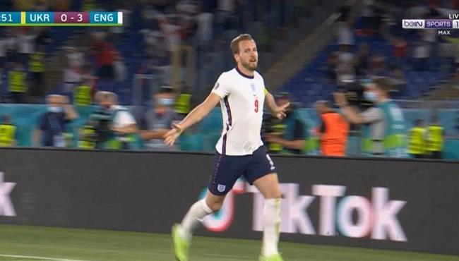 ملخص مباراة انجلترا واوكرانيا في يورو 2020