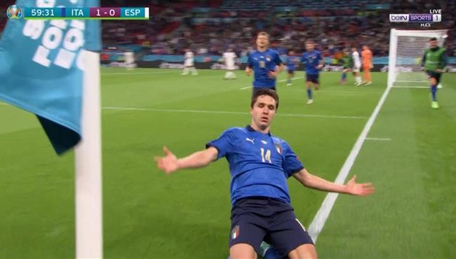 اهداف اسبانيا وايطاليا 1-1 يورو 2020