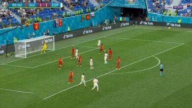 اهداف مباراة اسبانيا وسويسرا في يورو 2020