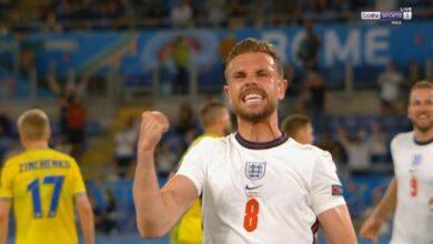 اهداف مباراة انجلترا واوكرانيا 4-0 يورو 2020