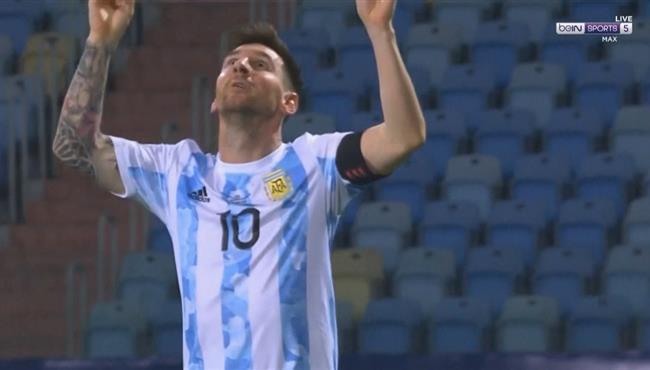 هدف ميسي الرائع في مرمى الإكوادور 3-0 كوبا أمريكا