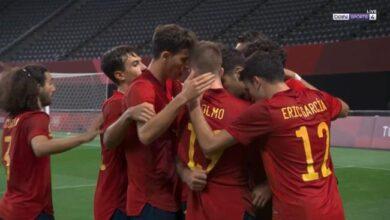 نتيجة مباراة أستراليا وإسبانيا في أولمبياد طوكيو 2020