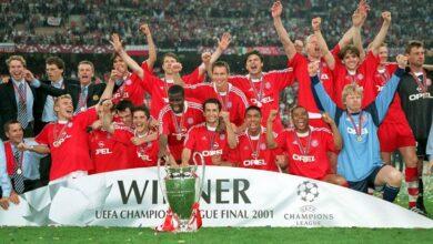 نهائي دوري ابطال اوروبا 2001