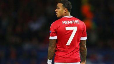 ممفيس ديباي بقميص مانشستر يونايتد