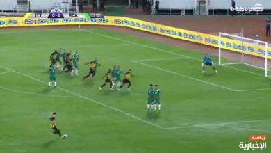 هدف الاتحاد الاول ضد الرجاء المغربي 1-0 البطولة العربية