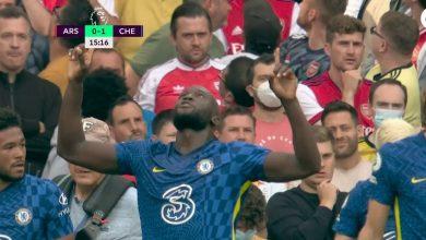 هدف لوكاكو ضد ارسنال 1-0 الدوري الانجليزي