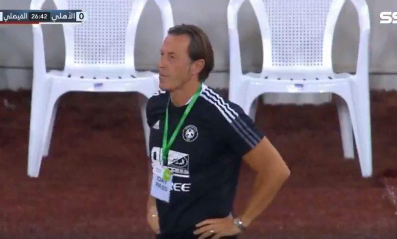 هدف الفيصلي الاول في مرمى الاهلي 1-0 الدوري السعودي