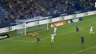 هدف ليفانتي الثاني ضد ريال مدريد 2-1 الدوري الاسباني