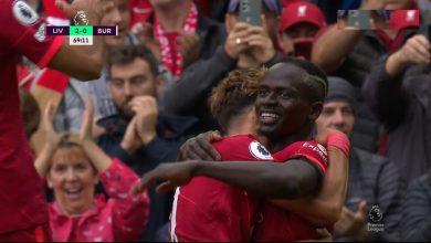 اهداف مباراة ليفربول ضد بيرنلي 2-0 الدوري الانجليزي