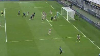 هدف انتر ميلان الاول ضد جنوى 1-0 الدوري الايطالي