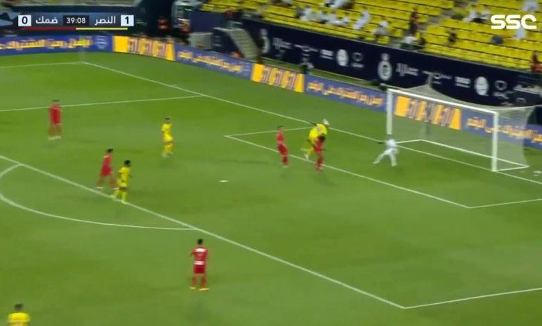 هدف تاليسكا في مرمى ضمك 2-0 الدوري السعودي