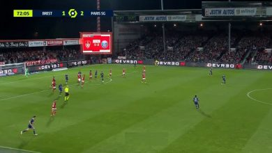 اهداف باريس سان جيرمان ضد بريست 4-2 الدوري الفرنسي