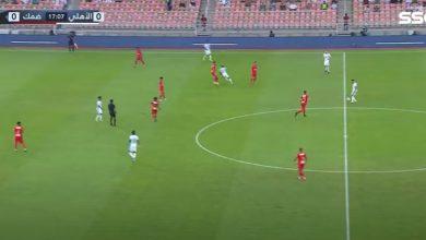 اهداف الاهلي ضد الحزم 1-1 الدوري السعودي