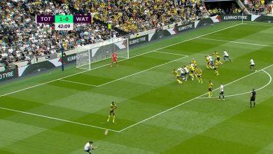 هدف توتنهام الاول ضد واتفورد 1-0 الدوري الانجليزي