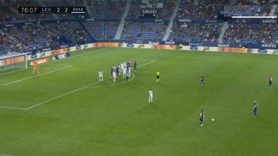 هدف ليفانتي الثالث ضد ريال مدريد 3-2 الدوري الاسباني