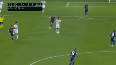هدف ريال مدريد الثاني ضد ليفانتي 2-2 الدوري الاسباني