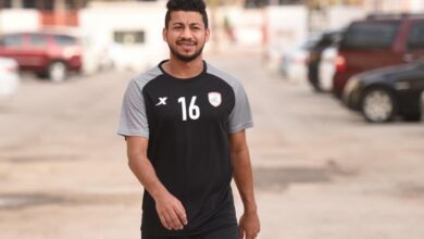 محمد عطية لاعب نادي الشباب